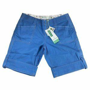 Aventura Womens Arden V2 Shorts Blue Stretch Relax